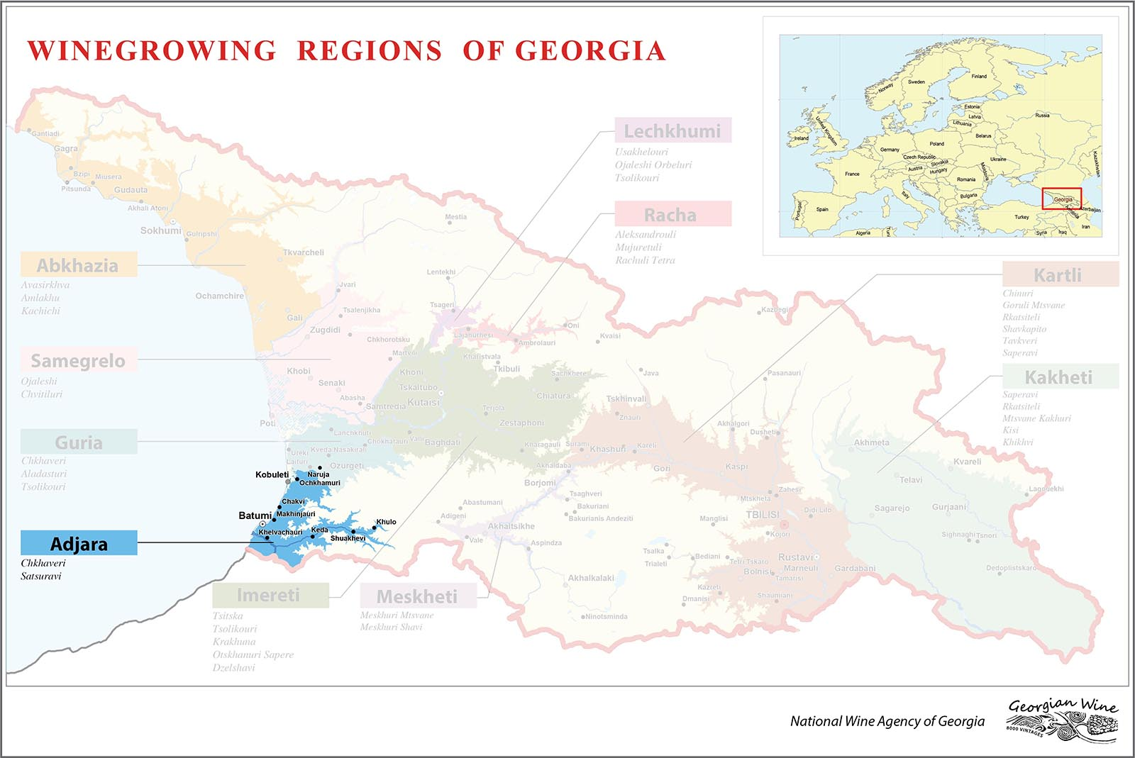アジャラ地図